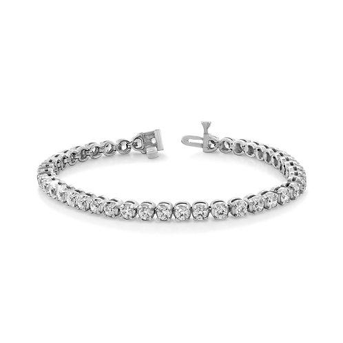 Elegant Tennis Diamond Bracelet