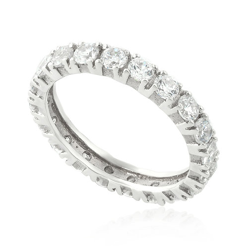 Classic Large Diamond Eternity 4 Prong Head