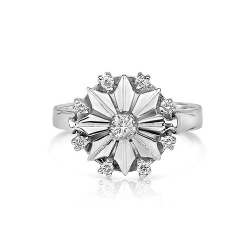 Upgraded Diamond Fulla Flower Ring