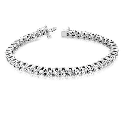 Bold Tennis Diamond Bracelet