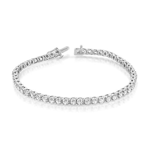 Elegant Tennis Diamond Bracelet