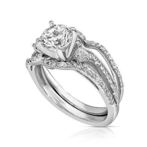 Prominent Diamond Engagement Set