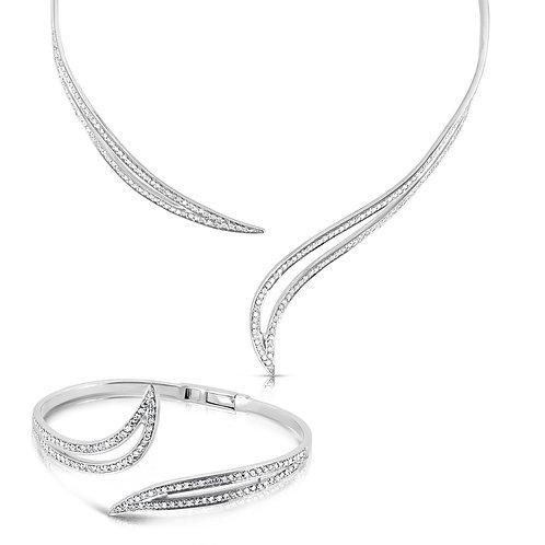 Classy Bridal Diamond Set