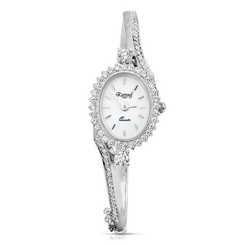 Elegant and Modern Design Kattouf Jewellery Watch