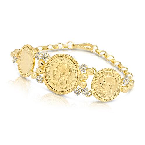 Bridal Lera Bracelet With CZ
