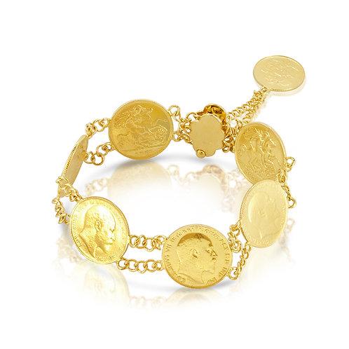 21K 7 Gold Leras Bracelet