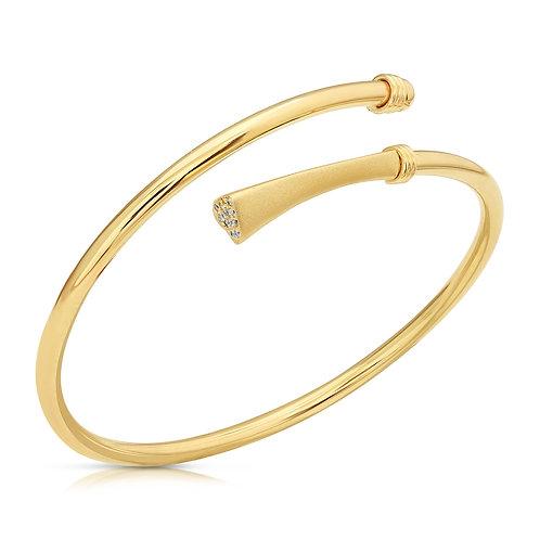 Heart Bracelet With CZ