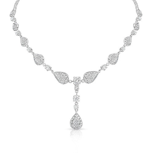 Bridal Various Diamond Inlaid Pears