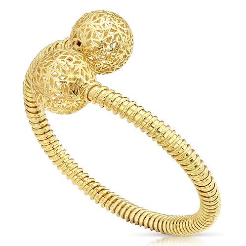 Modern Structure Ball Bracelet
