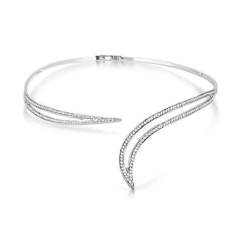 Classy Bridal Diamond Necklace