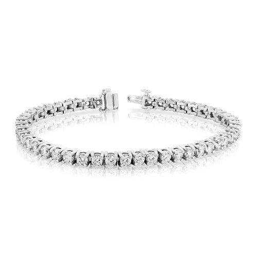 Bold Classic Diamond Tennis Bracelet