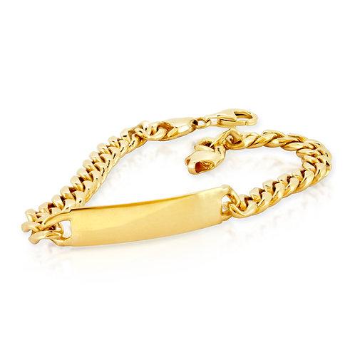 Soft Simple 14K Gold Bracelet