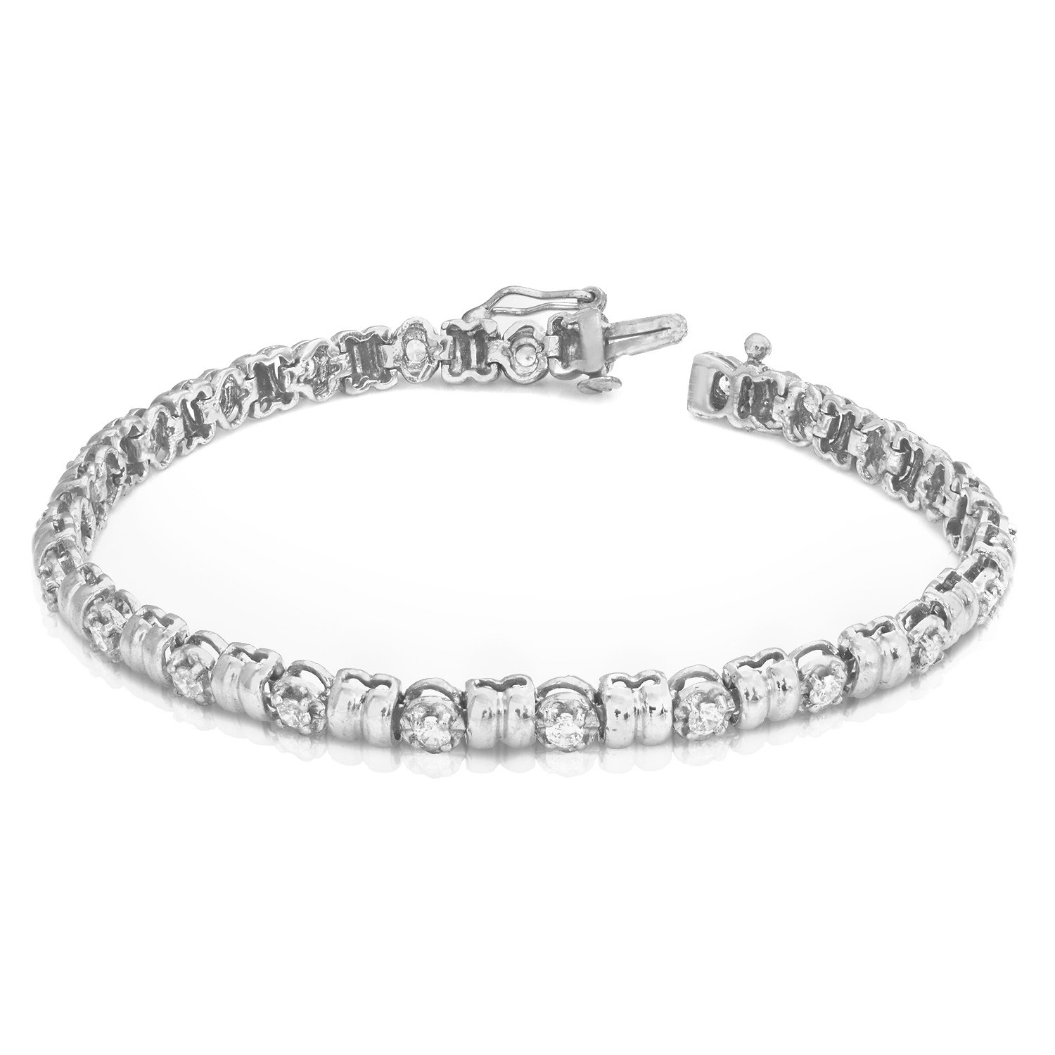 heart cate jewelry tennis products chloe bracelet rosalie