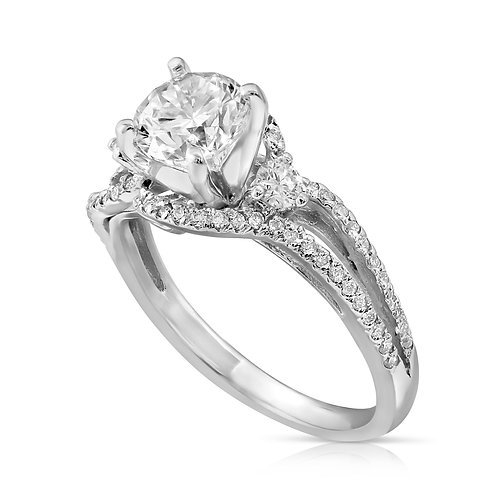 Prominent Diamond Engagement Ring