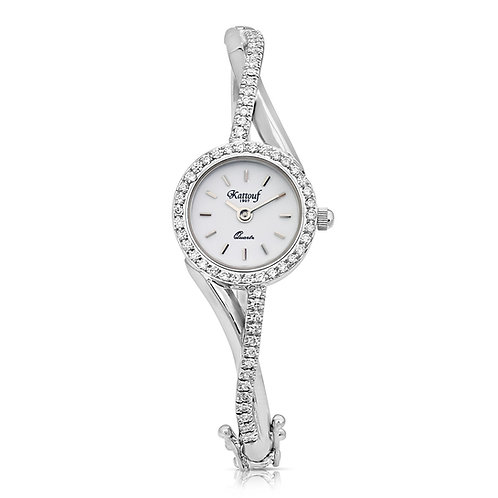 Twisted Diamond Watch