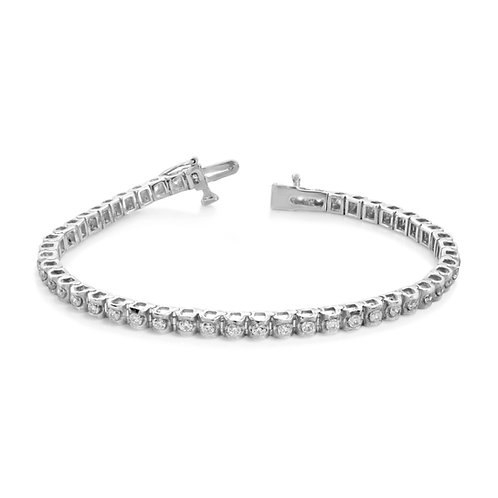 Soft Rounded Diamond Bracelet