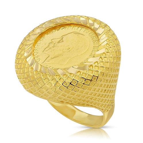 0.25 Lera Patterned Ring