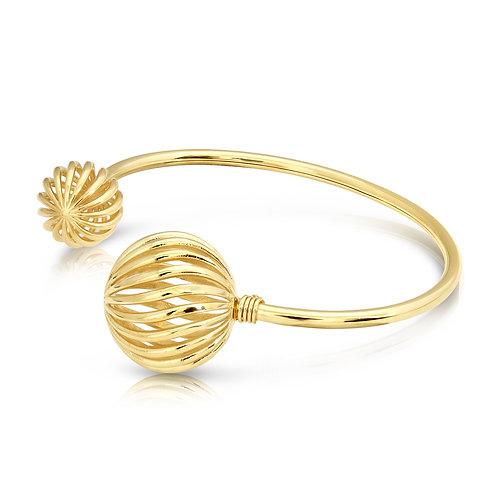 Oriental Structure Ball Bracelet