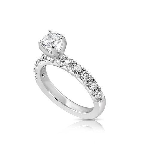 Updeck Diamond Engagement Ring