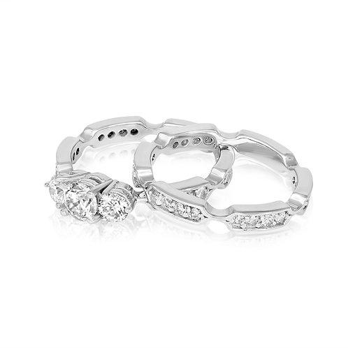 Triple Headed Diamond Couple
