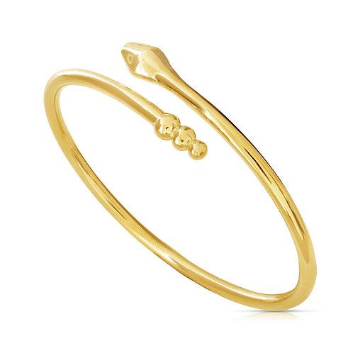 Soft Snake Gold Bracelet