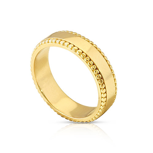 Orient Repetitive Ball Wedding Ring