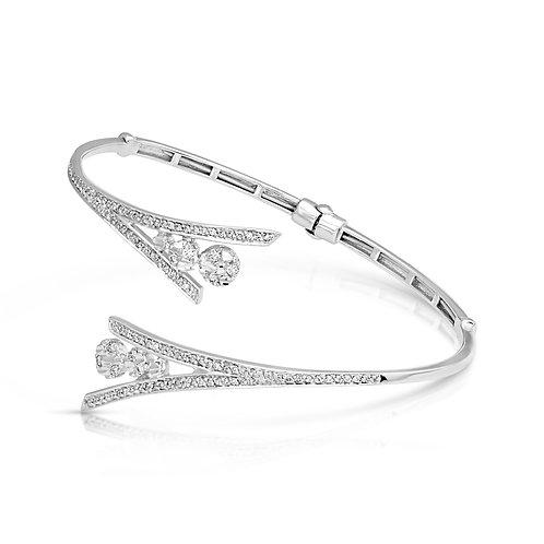 Bridal Diamond Inlaid Bracelet
