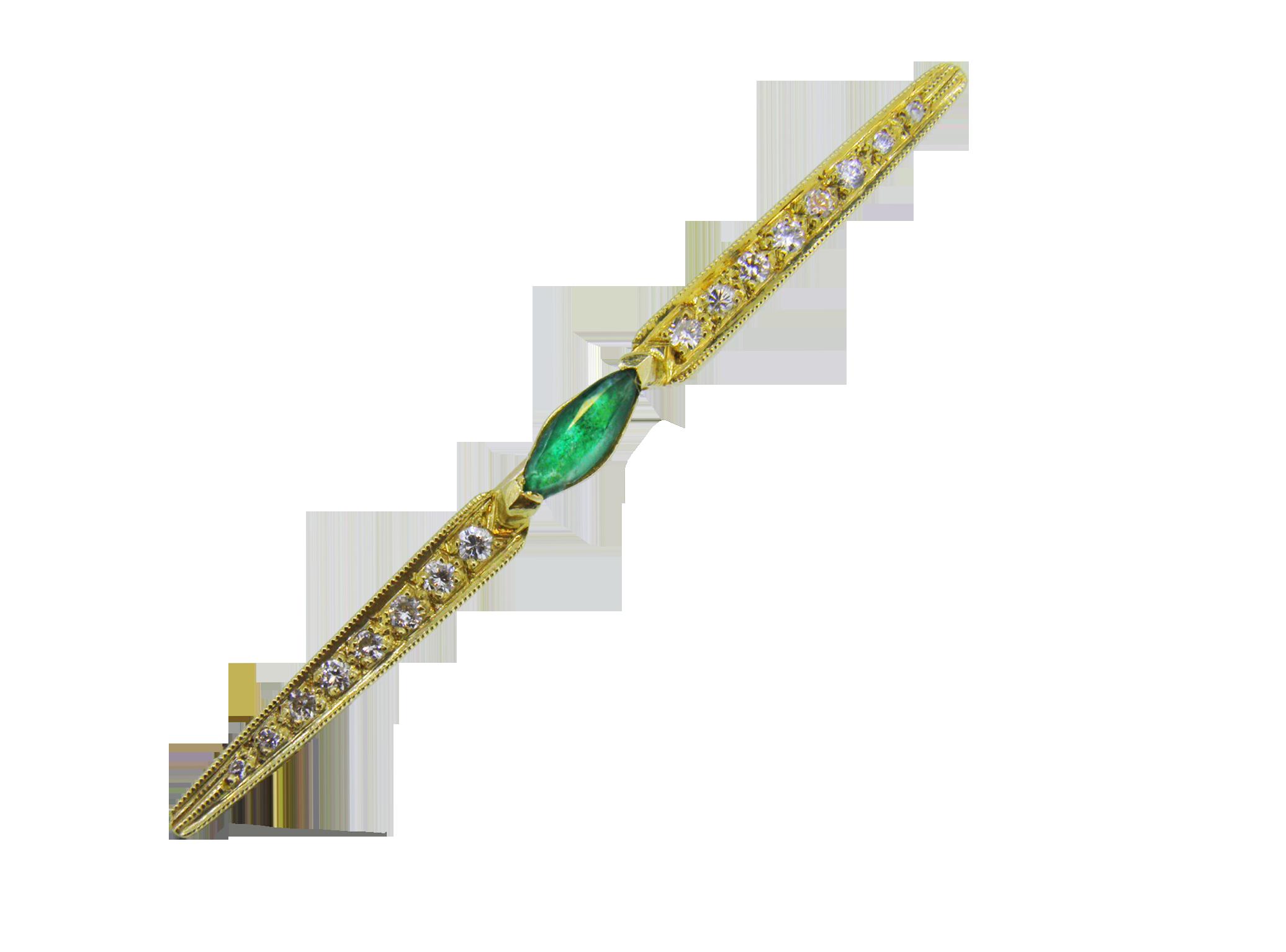 brooch emiralde