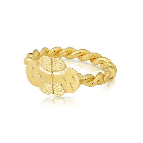Twisted Traditional Ring