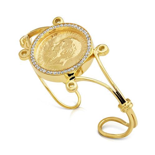 Traditional Lera Bracelet With CZ