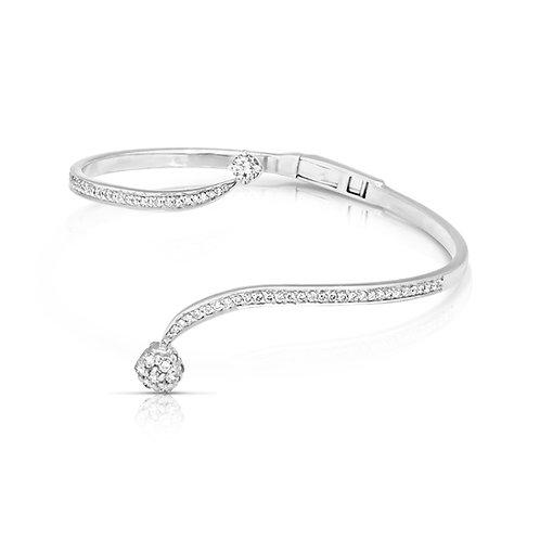 Soft Neat Diamond Bridal Bracelet