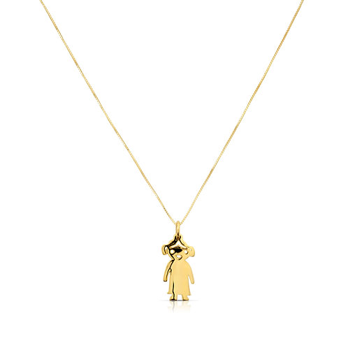 Big Girl Gold Pendant