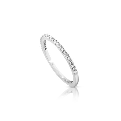 Thin Diamond Engagement Ring