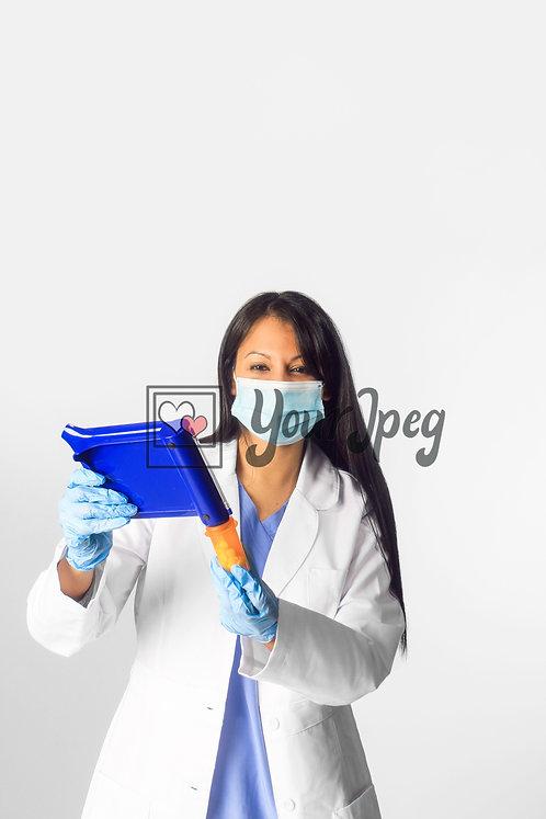 Female Doctor Preparing Prescriptions #4