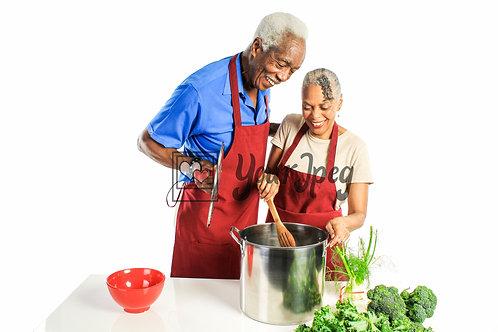 Senior Grandpa and Grandma Cooking #5