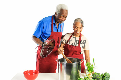 Senior Grandpa and Grandma Cooking #6