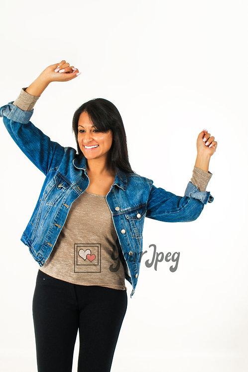 Woman Dancing Using Arms