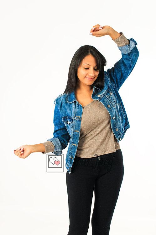 Woman Dancing Using Arms #2