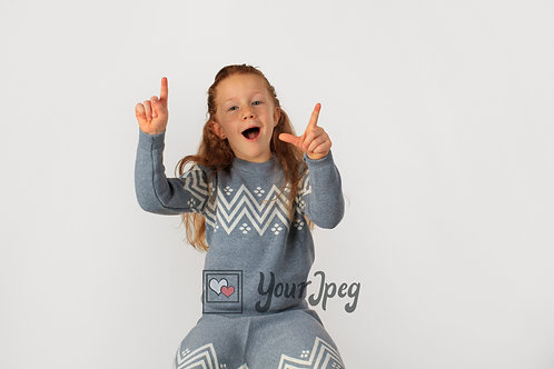 Young Girl Holding Up Fingers