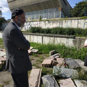 Daughter of former Ner Israel Mashgiach Leading Fight to Save Vilna Cemetery