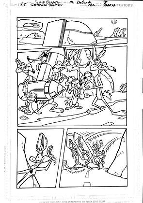 Vintage Looney Tunes Comic Book Interior Page #182