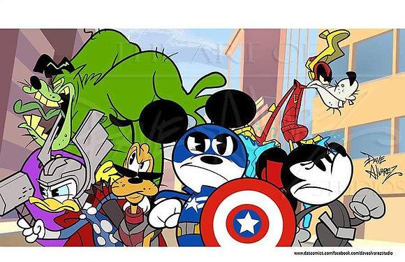 Mickey Avengers
