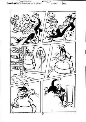 Vintage Looney Tunes Comic Book Interior Page #99