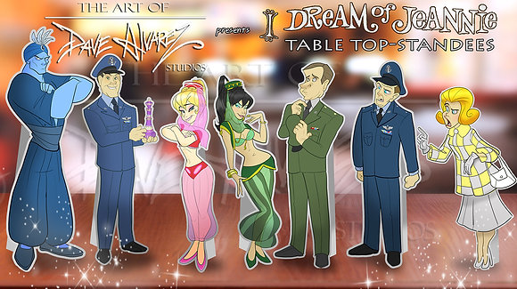 I Dream of Jeannie      (Table Top Standees)
