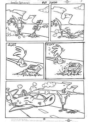 Vintage Looney Tunes Comic Book Interior Page #65