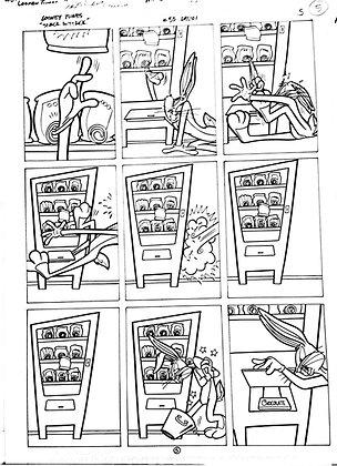 Vintage Looney Tunes Comic Book Interior Page (83)