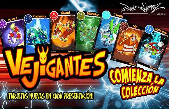 Serie 1 Vejigantes Cards (Spanish)