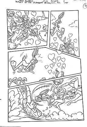 Vintage Looney Tunes Comic Book Interior Page #152