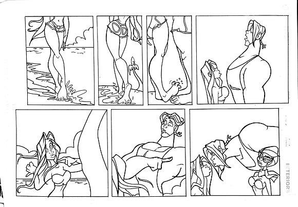 "Original Classic Yenny Comic Strip ""Meet her Dad"""