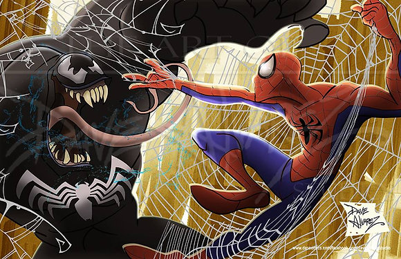 Spiderman vs Venum